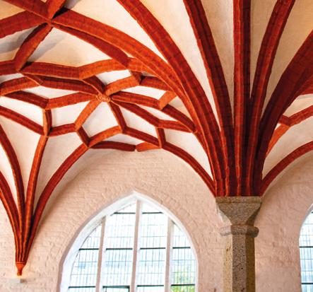 Deckengewölbe im Katharinenkloster